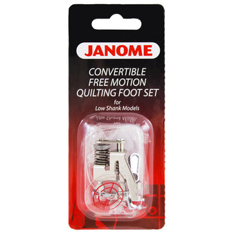 Janome Top-Load Convertible Free Motion Quilting Set