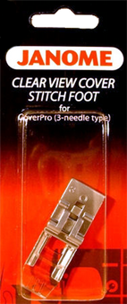 Janome CoverPro Clear View Foot