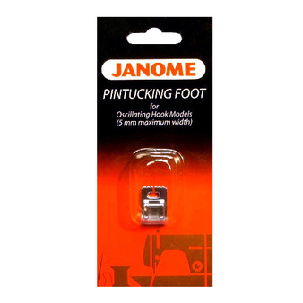 Janome Front-Load - Pintuck Foot (7 groove)