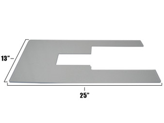 """Horn of America Cabinet Insert Extra Large 13"""" x  25"""""""