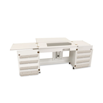 Arrow 98701 Bertha White Large Opening Airlift Cabinet & Extension
