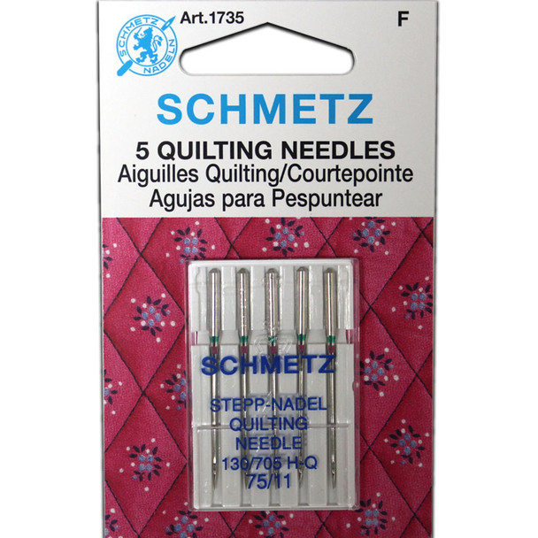 Schmetz Quilting Needles - Size 75/11