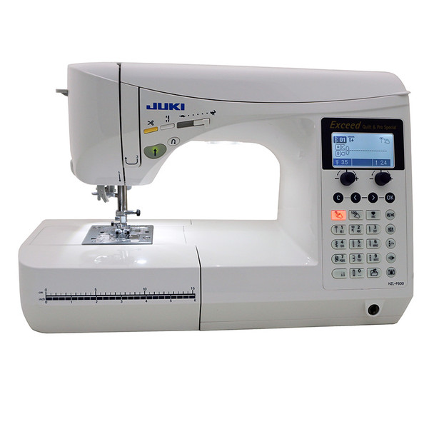 Juki Exceed HZL F600 Show Model Quilt Pro Special Computerized Sewing Machine