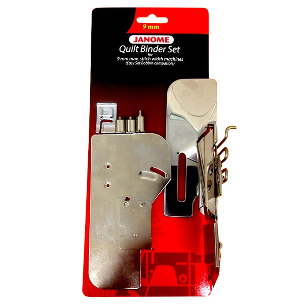 Janome Quilt Binder Set With Easy Set Bobbin Cover For 9mm Machines