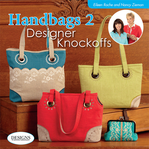 Handbags 2 Designer Knockoffs Book and CD By Nancy Zieman & Eileen Roche