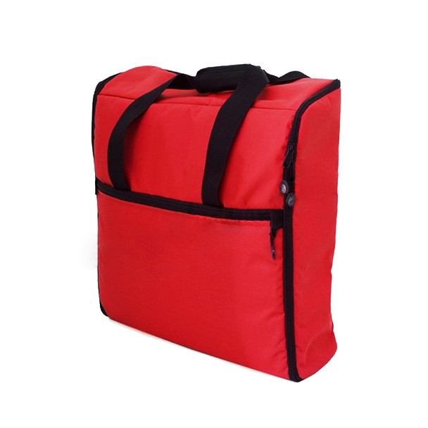 BlueFig EMB23IM - Embroidery Arm Travel Bag in Red