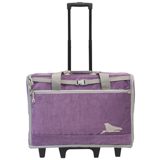 "BlueFig DS23 Wheeled Travel Bag 23"" In Songbird Purple"