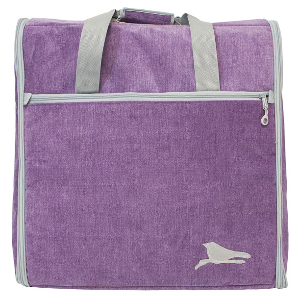 BlueFig DSEMB23 Embroidery Arm Travel Bag In Songbird Purple