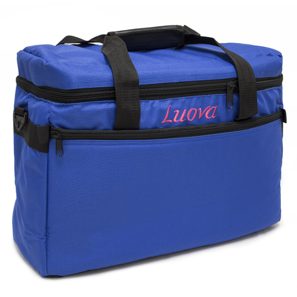 "Luova 18"" Sewing Machine Tote in Cobalt Blue"