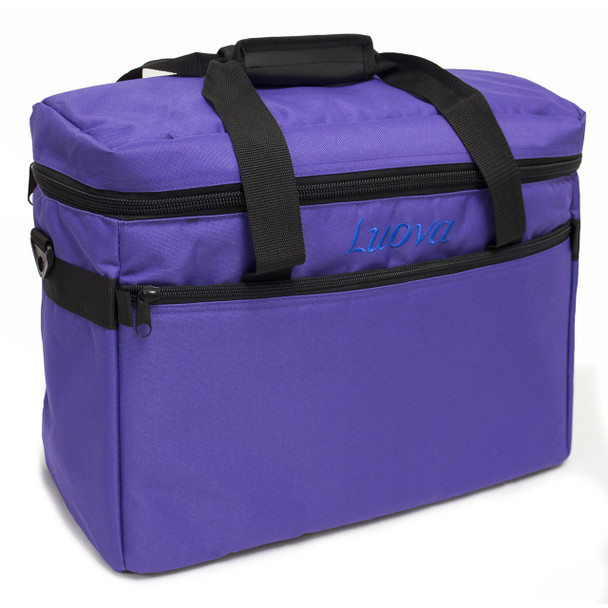 "Luova 18"" Sewing Machine Tote in Purple"