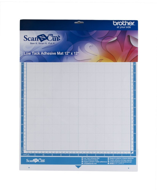 "Brother Low Tack Adhesive Mat 12"" x 12"" For ScanNCut"