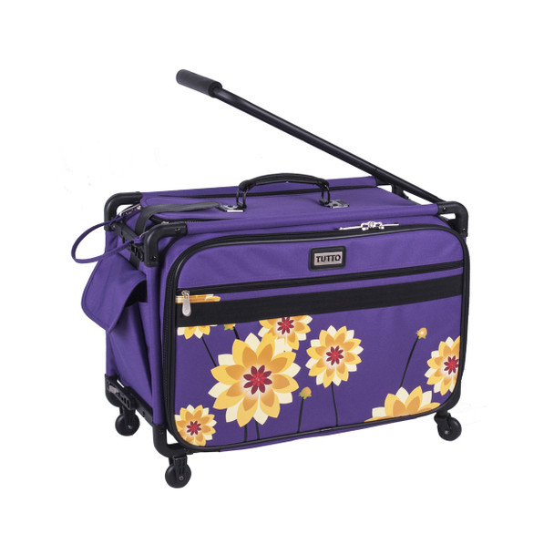 """Tutto 22"""" Large Sewing Machine Bag on wheels"""