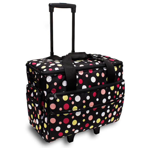 BlueFig TB19 Sewing Machine Trolley in Dottie