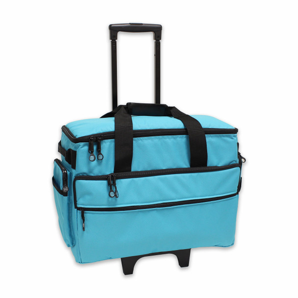 BlueFig TB19 Sewing Machine Trolley in Aqua