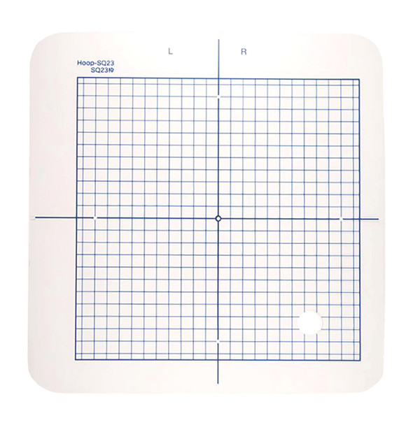 Janome Replacement Template with Grid for SQ23 Hoop