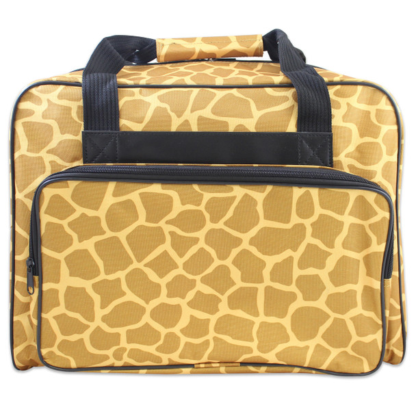 Janome Sewing Machine Tote Bag in Giraffe Pattern