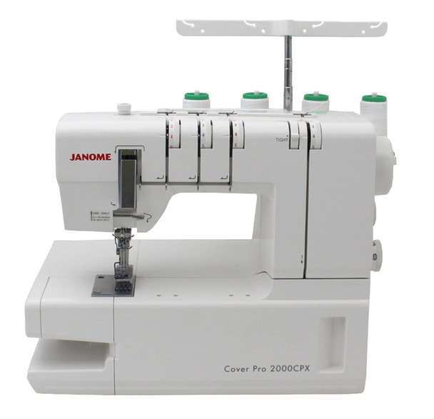 Janome CoverPro 2000CPX Coverstitch Machine-Refurbished