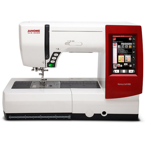 Janome Horizon Memory Craft 9900 Sewing and Embroidery Machine Bonus Bundle