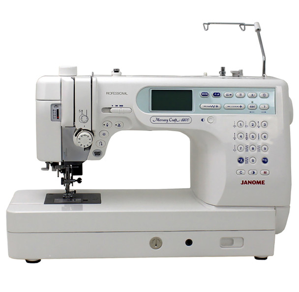 Janome Memory Craft 6600P Professional Computerized Sewing Machine With Exclusive Bonus Bundle