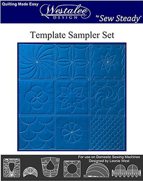 Sew Steady Sampler Template or Ruler Set #1