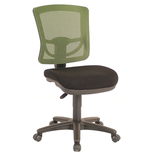 Comfort Sewing Chair with Green Mesh Back
