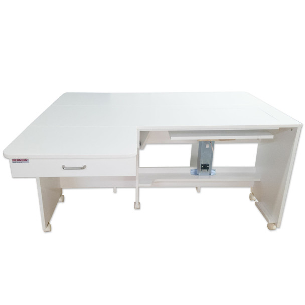Bernina by Horn of America B8350.80 Quilters Cabinet in White