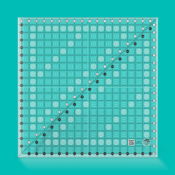 Creative Grids Quilt Ruler 18-1/2in Square