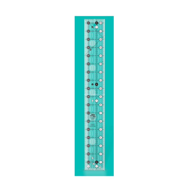 reative Grids 2-1/2in x 18-1/2in Rectangle Quilt Ruler
