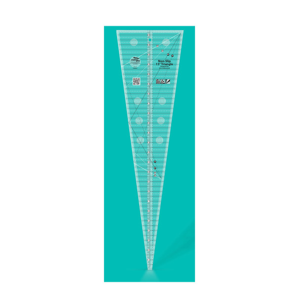 Creative Grids 15 Degree Triangle Quilt Ruler