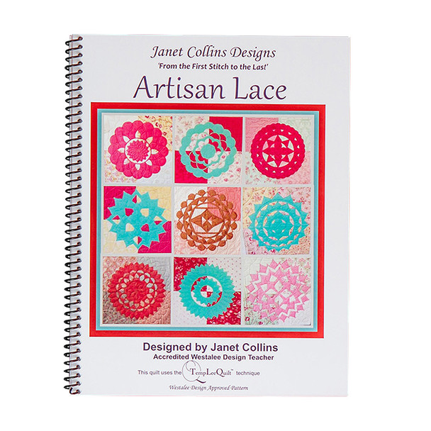 Janet Collins Artisan Lace Book by Westalee Designs