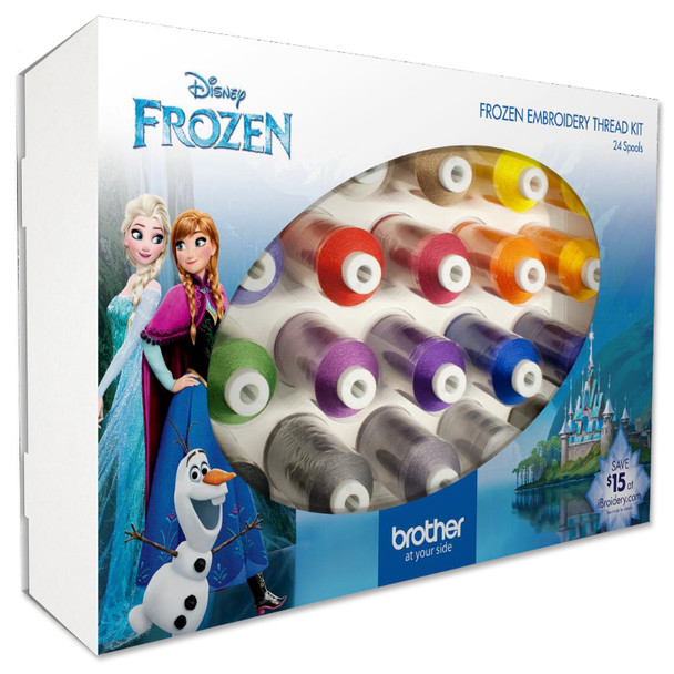 Brother Disney Frozen Embroidery Thread Kit