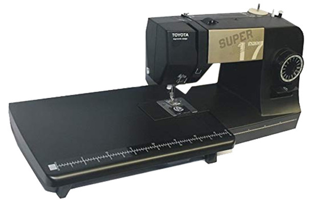 Toyota J17 Super Jeans Sewing Machine with Bonus Extension Table