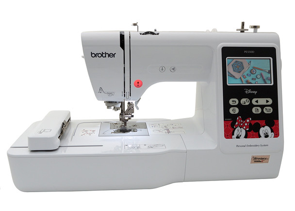 Brother PE550D Embroidery Only Machine Disney Designs
