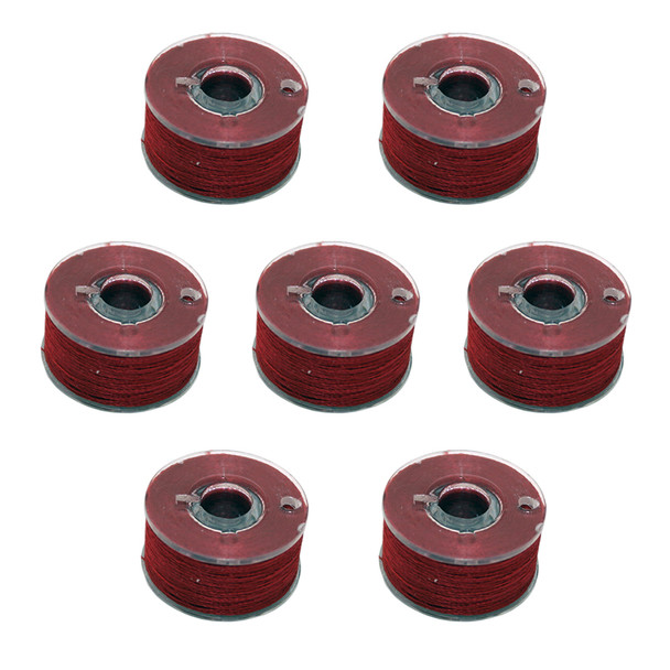 FIL-TEC Class 15 Prewound 145 Yard Poly Candy Apple Red Bobbins