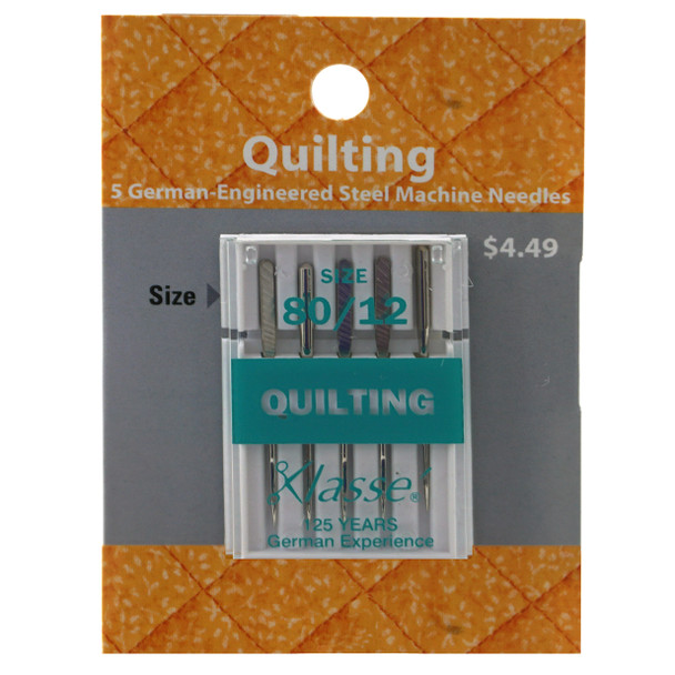 Klasse Quilting 80/12 Needles