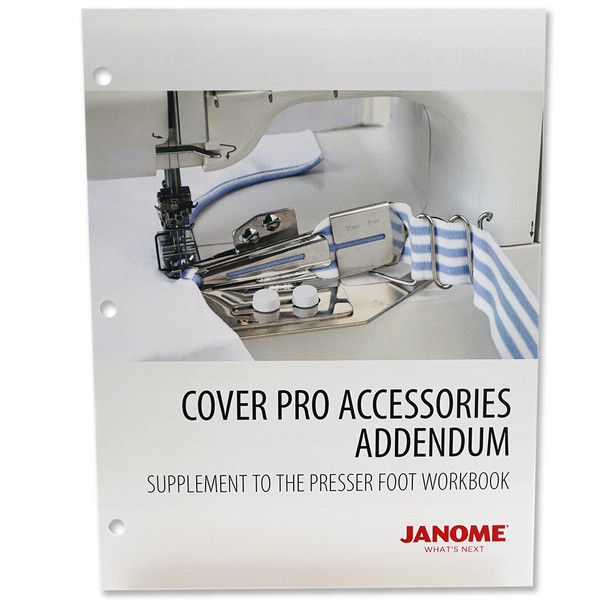 Janome Coverpro Accessories Workbook Addendum