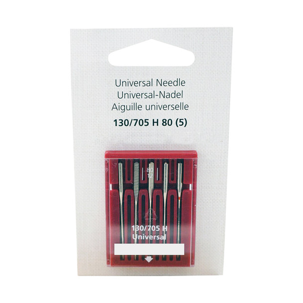 Bernina Universal needles Size 80/12 - 5 Pack