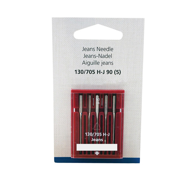 Bernina Jeans Needles Size 90/14 - 5 Pack
