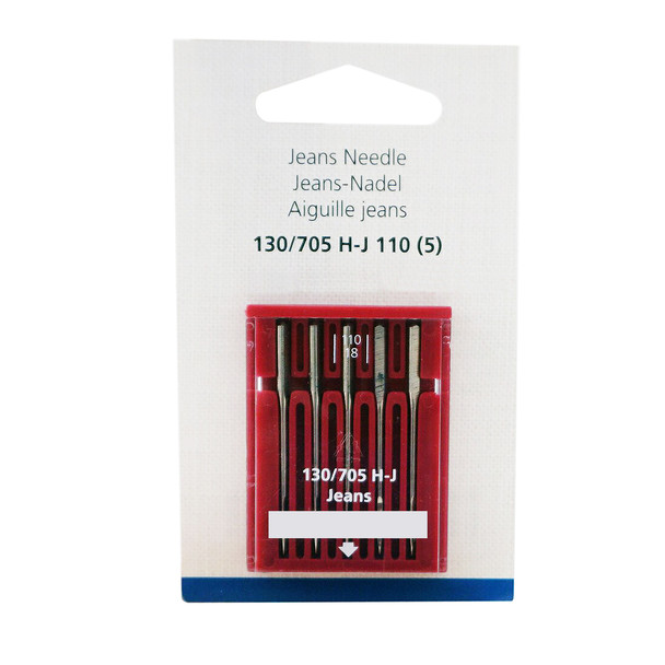 Bernina Jeans Needles Size 110/18 - 5 Pack