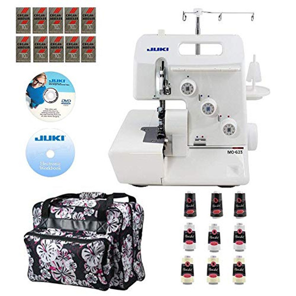 Juki MO-623 Garnet Series Serger with Bonuspack