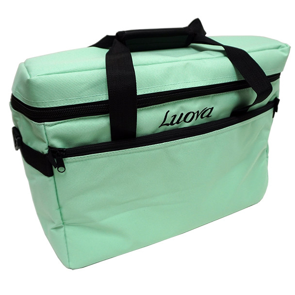 "Luova 18"" Sewing Tote in Mint Green"