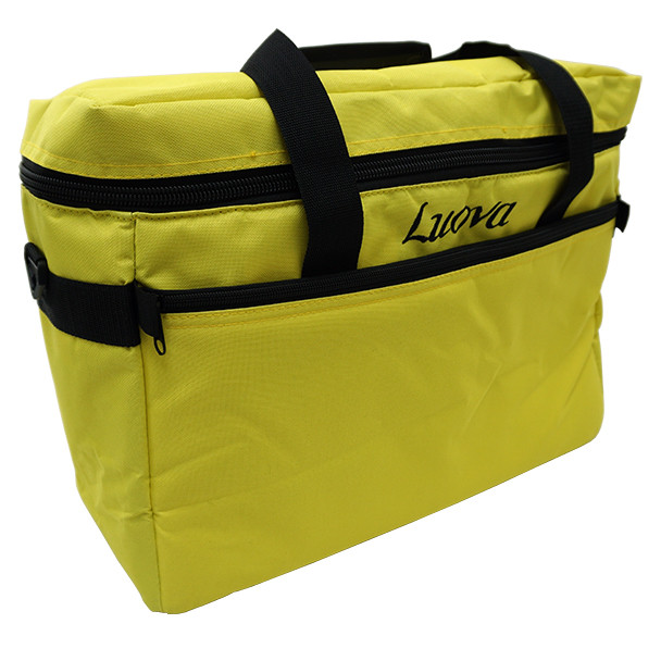 "Luova 18"" Sewing Tote in Meadowloark Yellow"