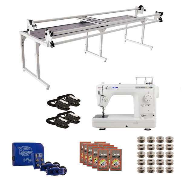 Juki TL2000Qi Grace 10' Continuum with Sure Stitch Machine Quilting Combo 1