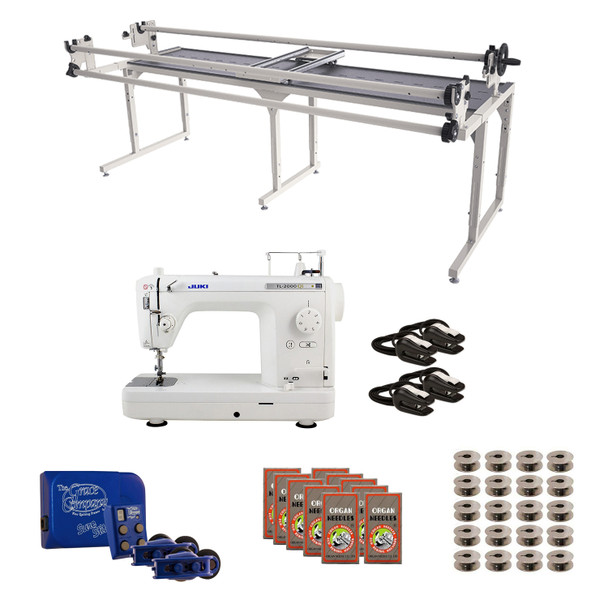 Juki TL2000Qi Grace 8' Continuum with Sure Stitch Machine Quilting Combo 2