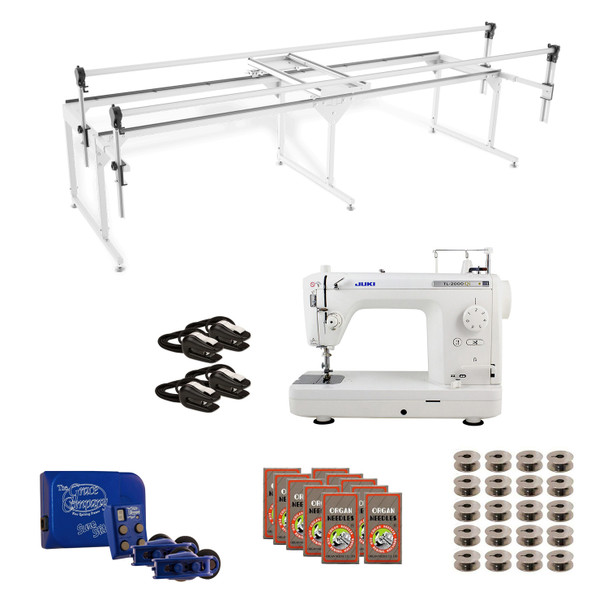 Juki TL2000Qi Grace Q-Zone Queen with Sure Stitch Machine Quilting Combo 3