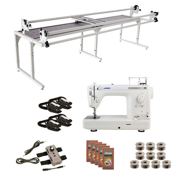 Juki TL2000Qi Grace 10' Continuum with Speed Control Machine Quilting Combo 5