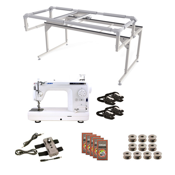 Juki TL2000Qi Grace Q-Zone Hoop Frame with Speed Control Machine Quilting Combo 8