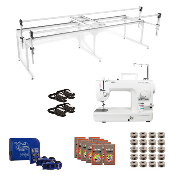 Brother PQ1500SL Grace Q-Zone Queen with Sure Stitch Machine Quilting Combo 3