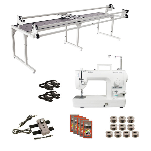 Brother PQ1500SL Grace 10' Continuum with Speed Control Machine Quilting Combo 5