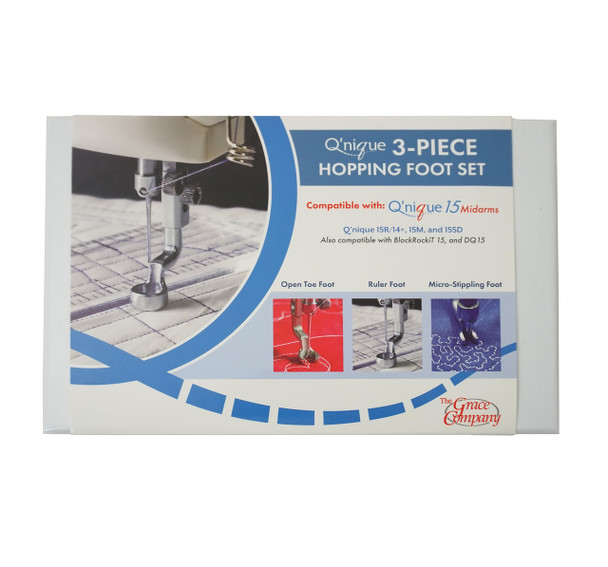 Grace Q'Nique 15 3-Piece Hopping Foot Set